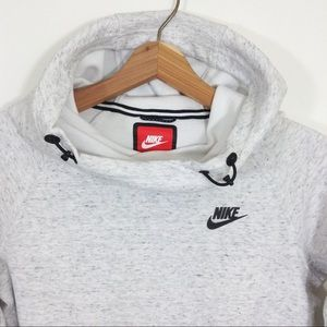 Nike Tech Pullover Funnel Neck Hoodie Sweatshirt